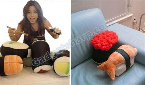 Cuddly Gadget Up by 10 Inedible Sushi Products Gadget Sharp