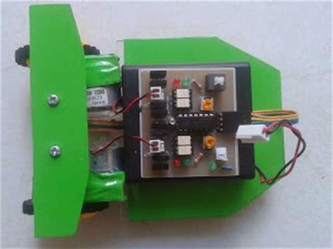 membuat robot line follower analog sederhana cara membuat robot line follower analog sederhana
