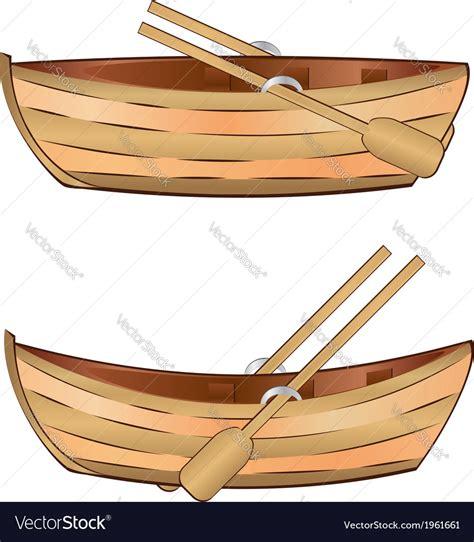 old boat vector wooden boat royalty free vector image vectorstock