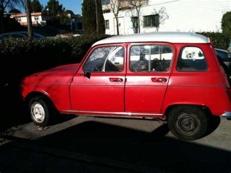 Vend Renault 4L (R4) en très bon état AUTO RENAULT à Montpellier REFERENCE: AUT REN VEN