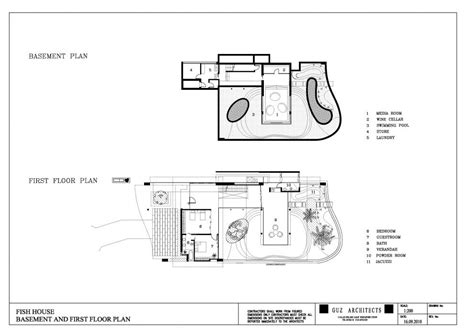 fish house floor plans fish house guz architects floor plan home design and style