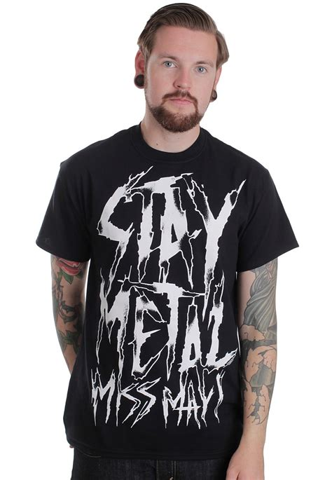 miss may i stay metal t shirt impericon worldwide
