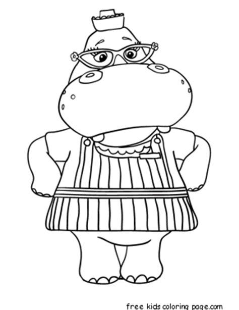 doc mcstuffins easter coloring pages printable doc mcstuffins hallie the hippo coloring