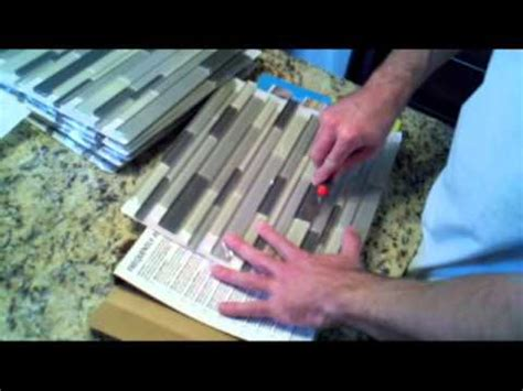How To Remove Simple Mat From Wall precision construction easy way to tile using simple mat