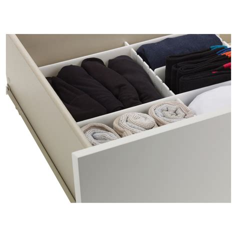 bedroom drawer organizer 6pc adjustable drawer organizer many compartments storage
