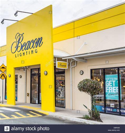 beacon lighting store at modern shopping precinct at