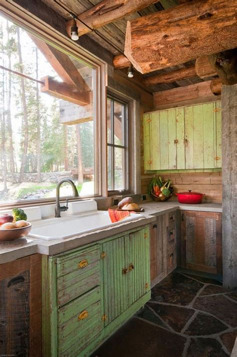 Rustic Homes Rustic Kitchen Sink Changing The Home Look Rustic Kitchen Sinks
