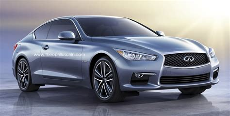nissan infiniti 2 door infiniti q60 rendered the q50 s two door sibling image