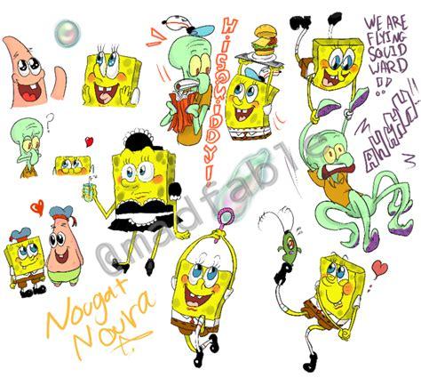 doodle spongebob doodle spongebob by nougat noura on deviantart