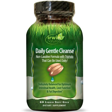 Max Daily Detox by Irwin Naturals Daily Gentle Cleanse 60 Liquid Soft Gels