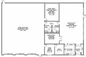 station designs floor plans fire station floor plans construction plans and details