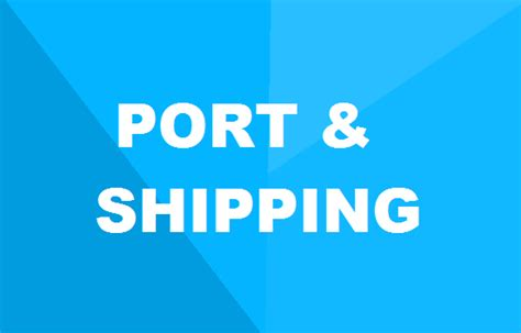 Mba In Shipping And Logistics Scope by Mba In Port Shipping Management Details Syllabus