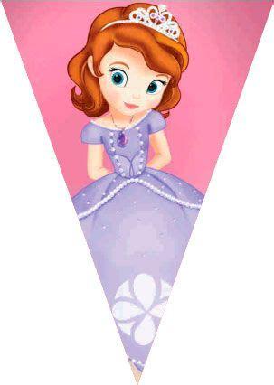 imagenes para decorar cumpleaños de la princesa sofia princesa sof 237 a banderines para imprimir gratis