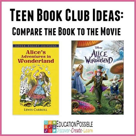 reading club themes teen book club ideas alice s adventures in wonderland