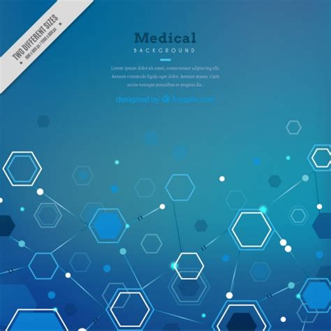 abstract medical background vector free download