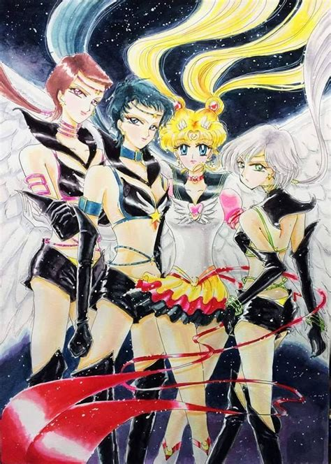 sailor starlights amp sailor moon sailor scouts