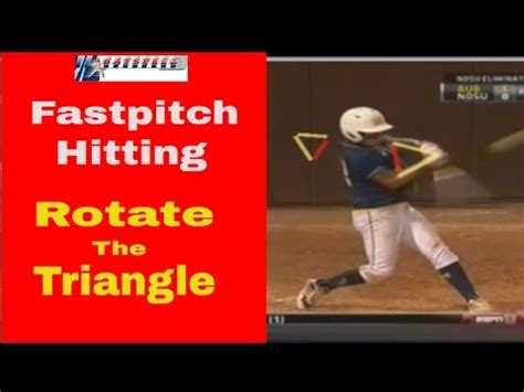 fastpitch softball swing best fastpitch softball power hitting drill rotate the