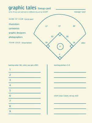 free printable volleyball lineup cards softball lineup printable big red baseball softball and