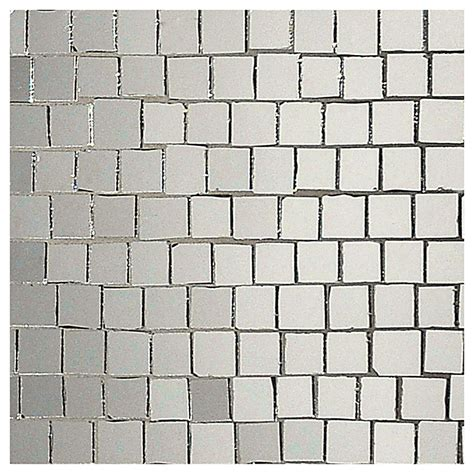 Mirrored Kitchen Backsplash stained glass mosaic tile roman silver mirror gloss 3