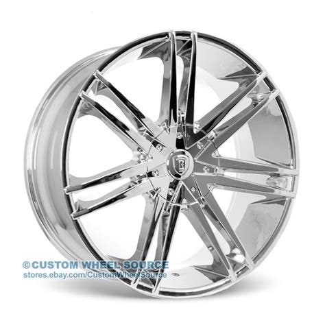 Truck Wheel And Tire Packages Ebay 26 Quot Borghini B20 Chrome Wheel And Tire Package For