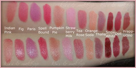 Lipstik Implora Fleur a dozen of nyx lipsticks swatches glam radar