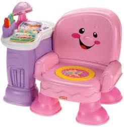 Fisher price laugh amp learn musical activity chair pink