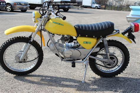 Motorrad 70er by 1971 Honda Sl70 Motorcycle Immaculate Restoration