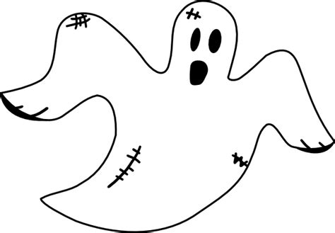 Ghost Coloring Pages Coloring Lab Ghost Color Page