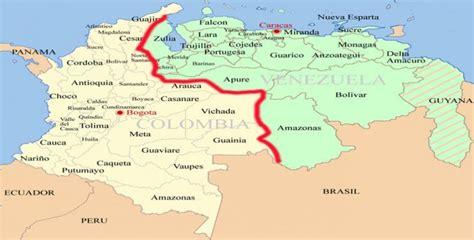 imagenes de venezuela y colombia wsj la frontera entre colombia y venezuela se convierte