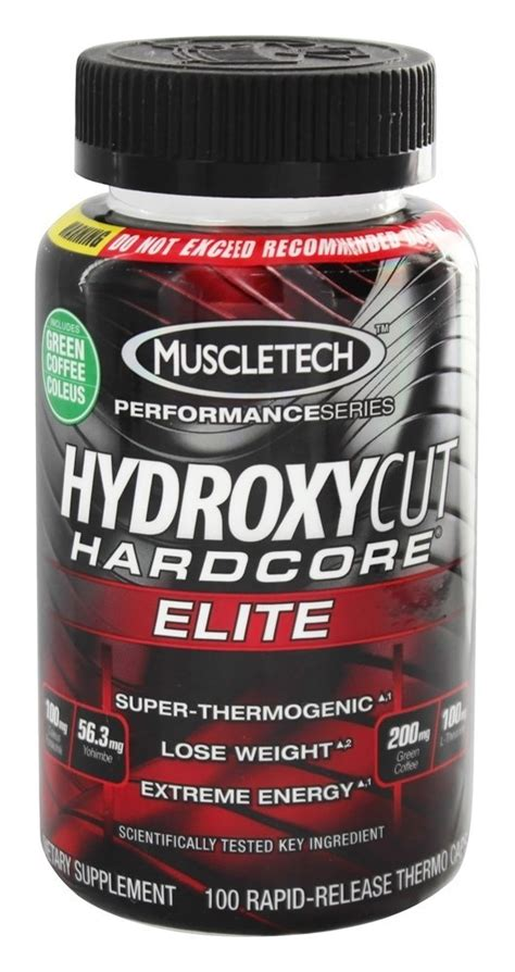 Muscletech Hydroxycut Elite Thermogenic Import hydroxycut pro series factory brand outlets