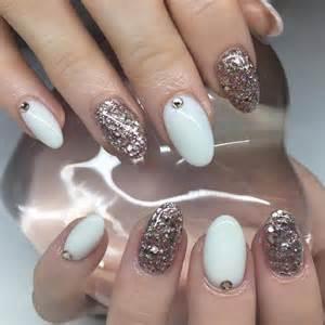25 white acrylic nail art designs ideas design trends