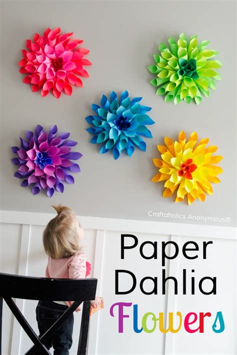 Flower Paper Craft Ideas - the best diy project easter craft ideas