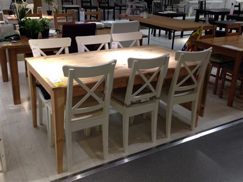 Ikea Salle A Manger 2715 by Table Ikea Nornas Bois Massif Pin Rallonge 6 8 10