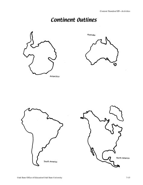 template of the continents best photos of continents outlines printables world map printable continent outlines