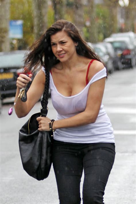 candid uk imogen candids on the raining day in