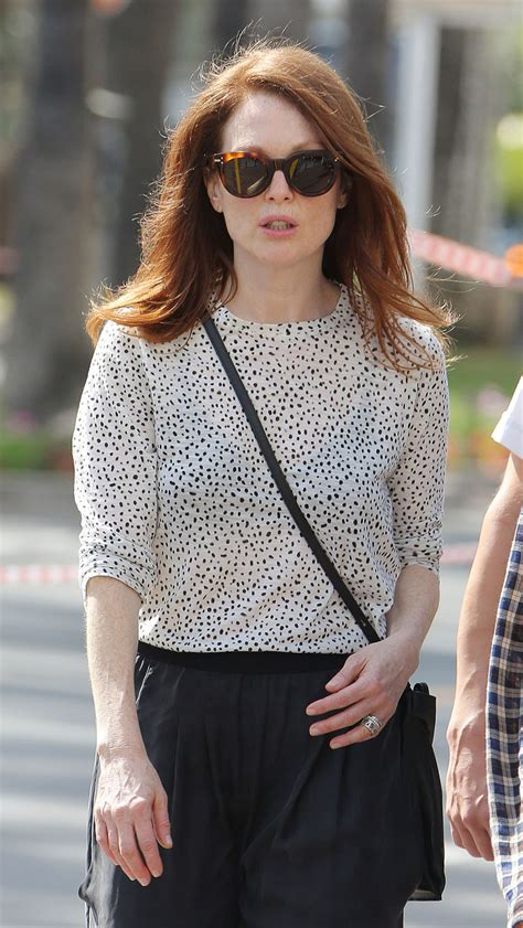 julianne moore julianne moore out and about in cannes 05 12 2015