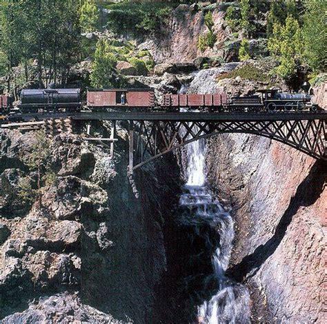 Garden Railway Accessories A Spectacular Setting For A Garden Railway In The