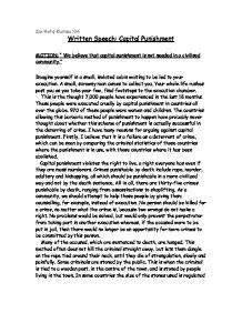 Penalty Essays Against by Penalty Essay Against Argumentative Articles