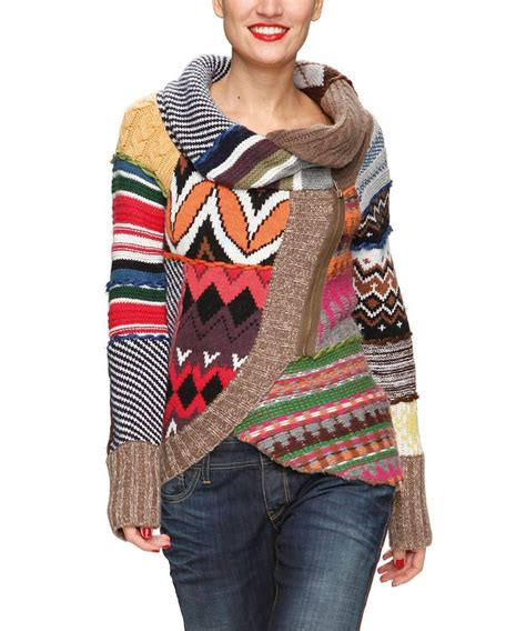 Patchwork Sweater - patchwork sweater clothes more