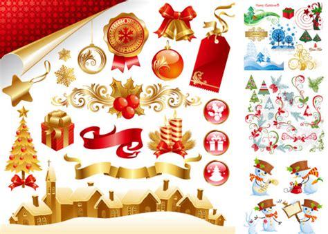 new year element free 美しいクリスマス後半ベクター 無料素材イラスト ベクターのフリーデザイナー