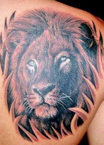 tribal lion head tattoos 18 magnificent tribal only tribal