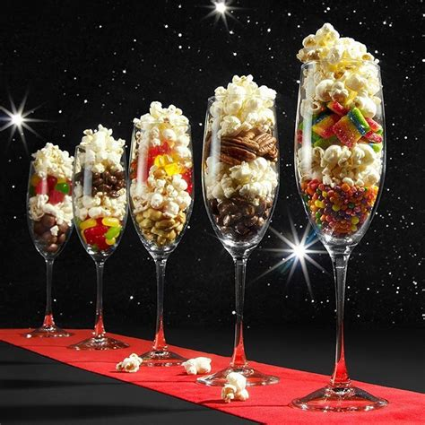 themed food events get fancy schmancy for the red carpet event tonight with