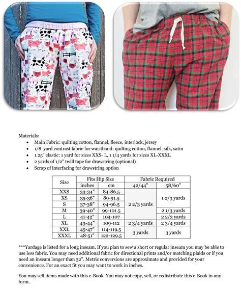 pajama pattern peek a boo pattern shop hit the hay pajama downloadable pattern