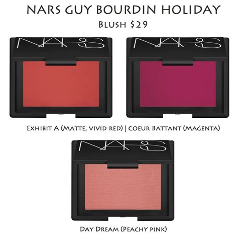 Nars For The Holidays Part 2 by Nars Bourdin Color Collection Information And