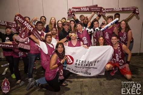 Of Manitoba Mba by Um Today Asper School Of Business Asper Rocks 2015 Mba