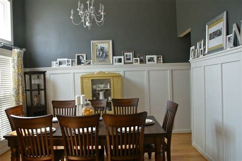 Yellow And Grey Dining Room by Yellow And Gray Dining Room