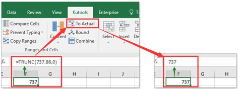 excel format x after number how to remove digits after decimal in excel