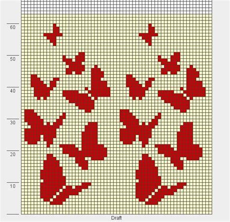 butterfly knitting chart butterflies knit chart jaquart graphiques