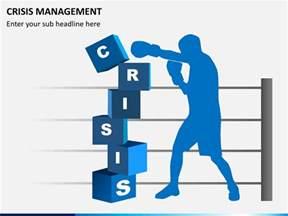crisis management powerpoint template sketchbubble