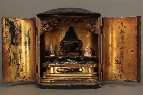 Japanese Altar Cabinet by Lot 232 Altar Cabinet Travelling Shrine